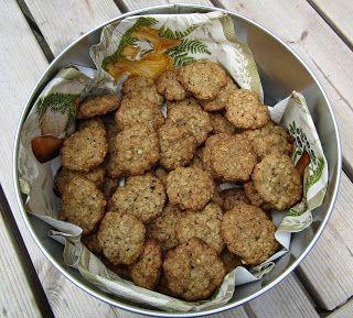 Moje tvořeníčko...: Skořicové ovesné sušenky