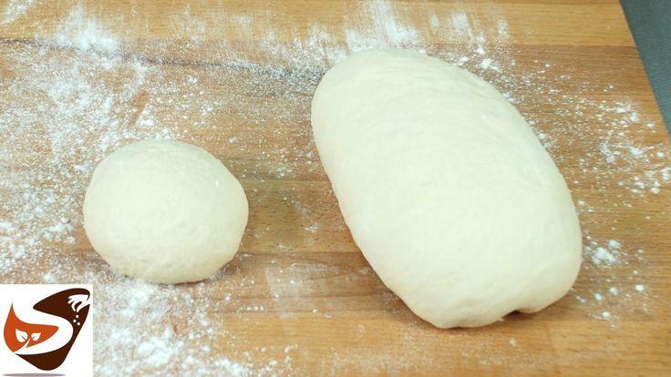 Pizza, impasto facile e veloce per pizze tonde e in teglie