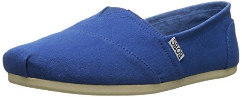 BOBS from Skechers Women's Plush Peace and Love Flat, Royal Blue, 7.5 M US - http://all-shoes-online.com/skechers-3/7-5-b-m-us-bobs-from-skechers-womens-plush-peace-and-11