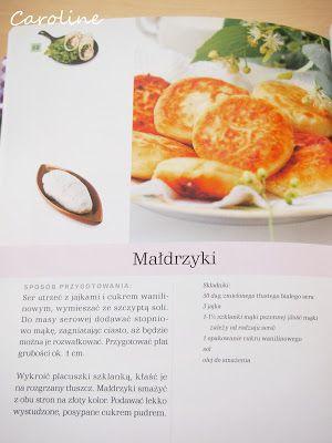 """... hen daleko: znowu kulinarnie, placuszki serowe """"Małdrzyki"""""""