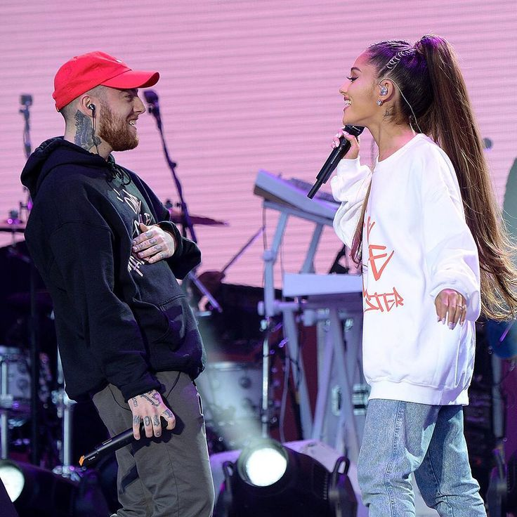 Ariana Grande's boyfriend and one of her biggest supporters, Mac Miller, joined her onstage at #OneLoveManchester to perform The Way. We're not crying, you are. (We are too.) (: Kevin Mazur/One Love Manchester/ @gettyentertainment for One Love Manchester)