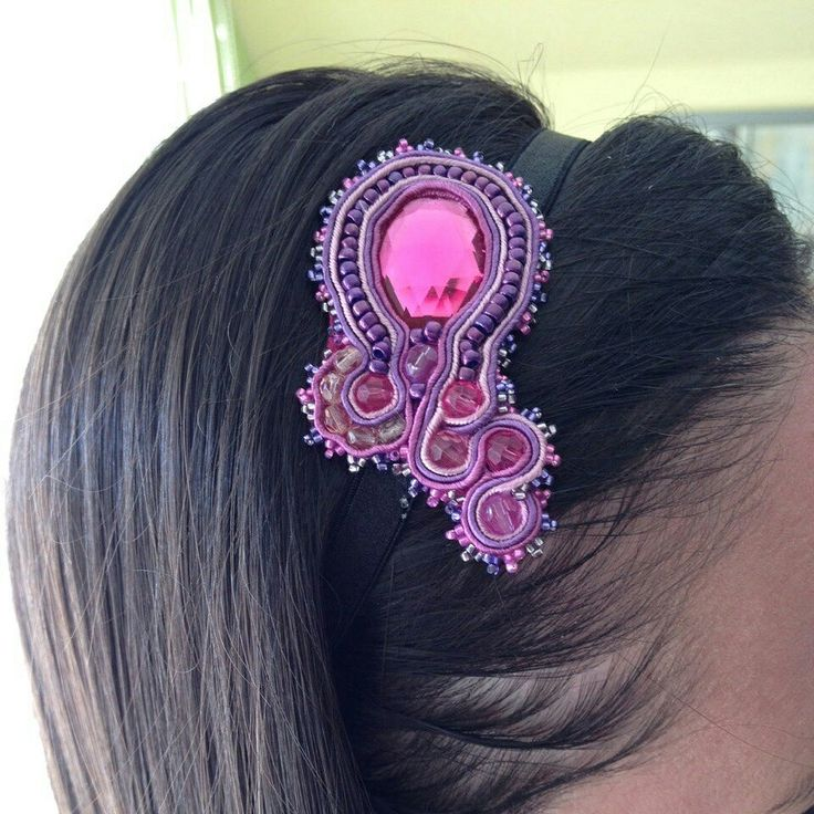 Handmade soutache headband