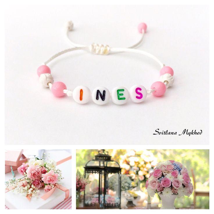 bracelet ines personnalisable rversible bracelet avec prnom ou message