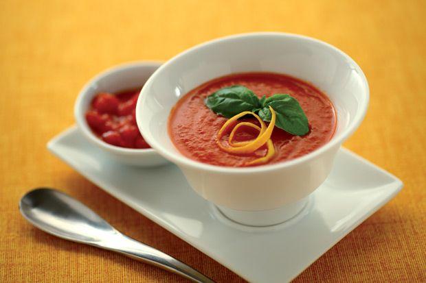 #Zuppa di #pomodoro all'#arancia || #Cirio, gusta la nostra #ricetta. #pomodoro #recipe #soup #tomatosoup