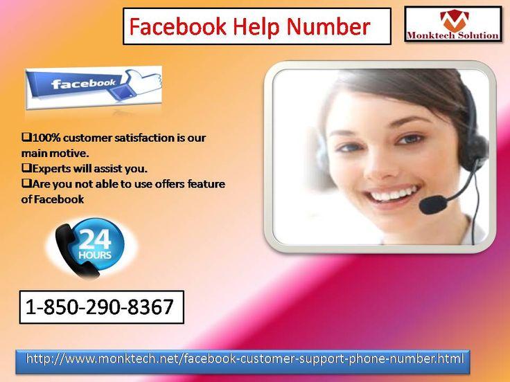 Get remote assistance via Facebook Help Number@1-850-290-8367