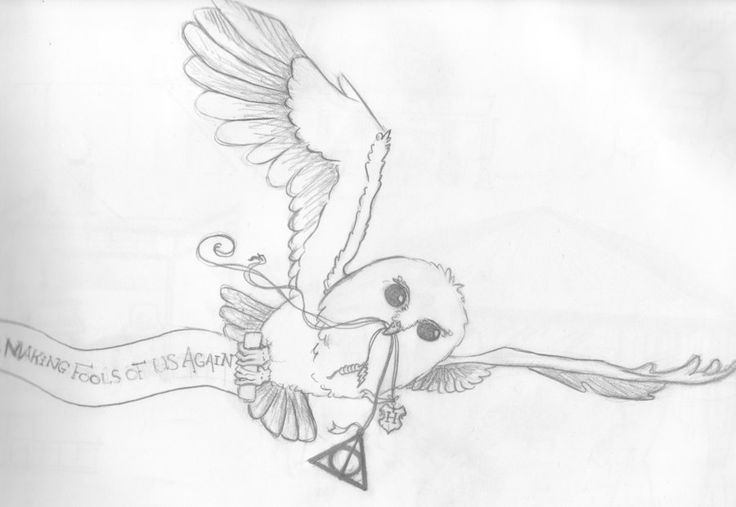 harry potter hedwig tattoo | Hedwig Tattoo Design By Ratchet3108