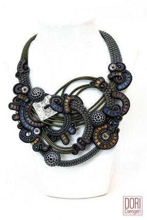 Dusk Bib Necklace