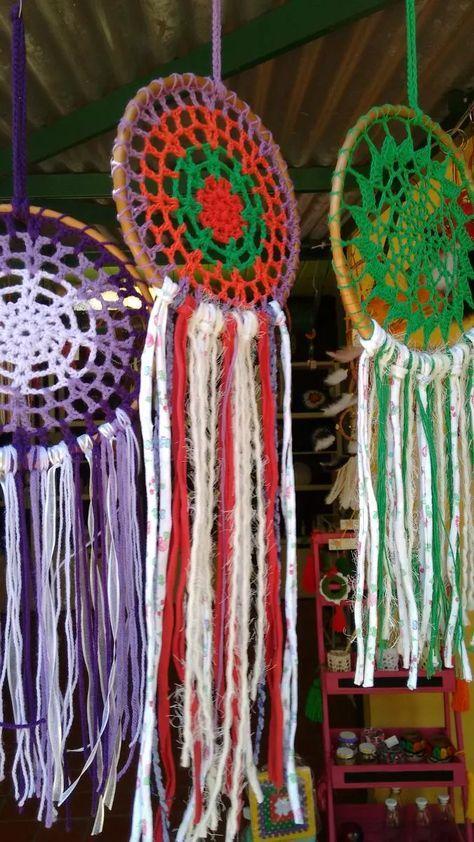 mandalas tejidas al crochet artesanales
