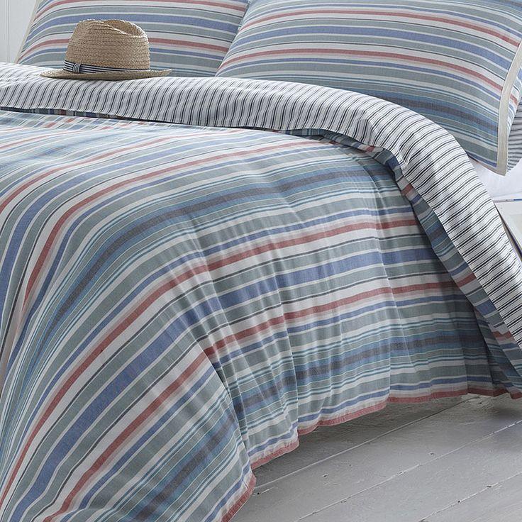 Seasalt Deckchair Stripe Super King Duvet Cover   achica