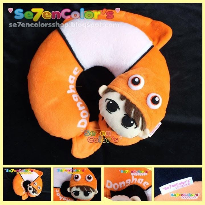 DONGHAE of SUPER JUNIOR Neck Pillow - Nemo Ver.
