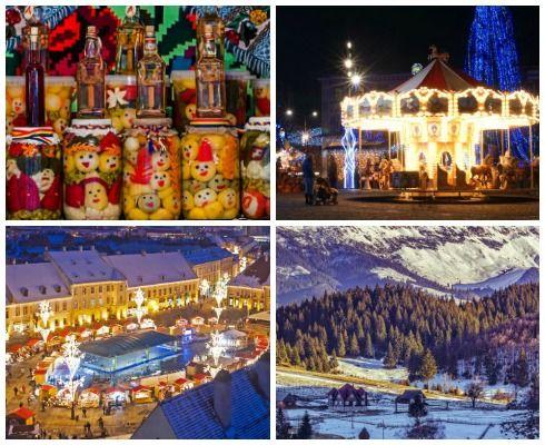 Vacanța de Crăciun 2016: 15 idei de concediu în România