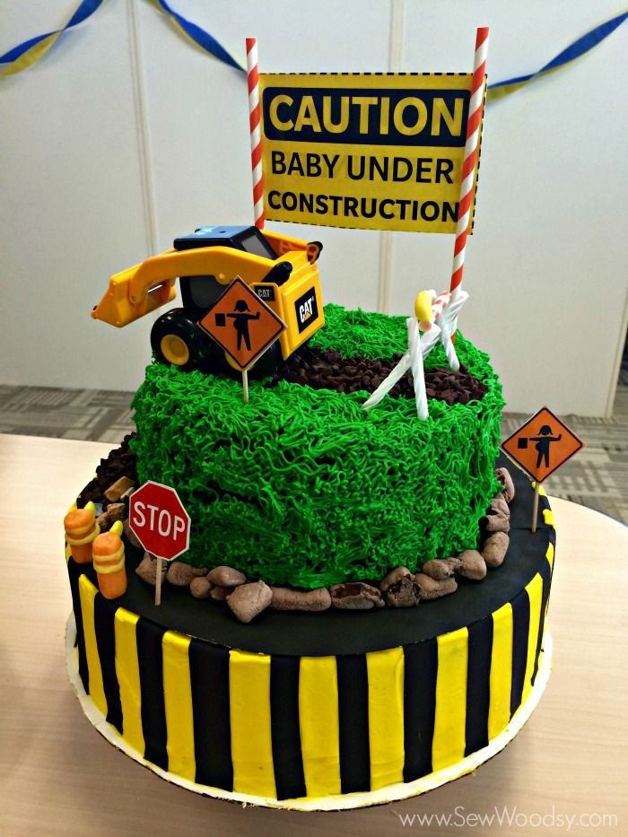 Construction Themed Baby Shower | Sew Woodsy