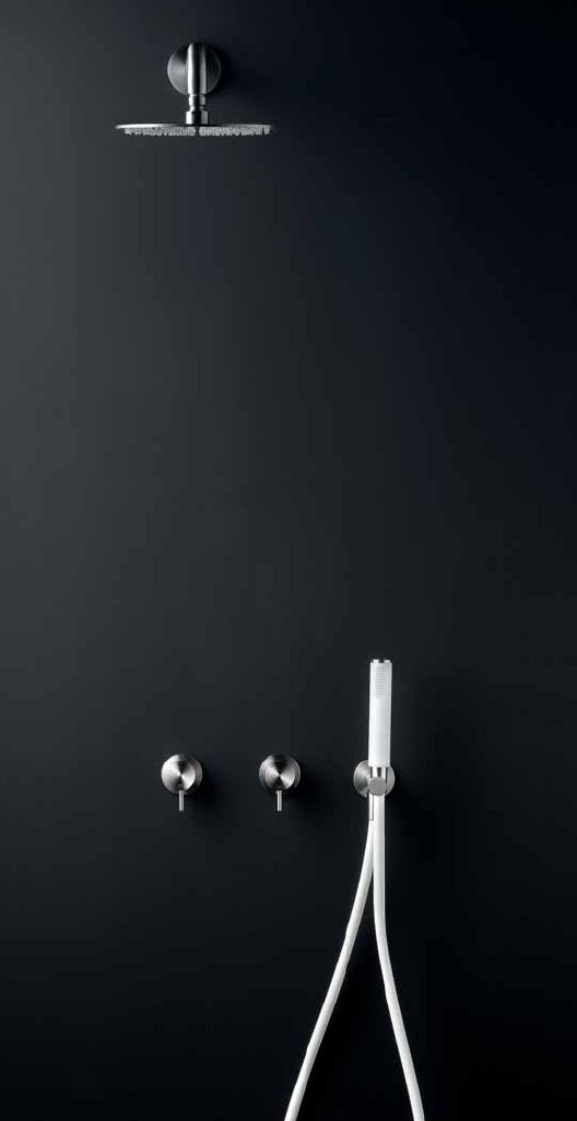 Milo + Free Ideas shower and taps by CEA Design.