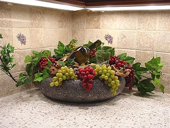 Custom Wine Bottle Fountain - Fountains n Slate