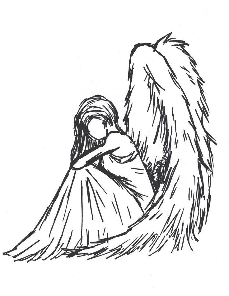 Sioban Mckey | Sad angel by Sioban-Mckey on deviantart and tumblr