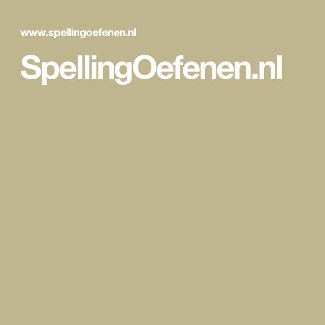 SpellingOefenen.nl