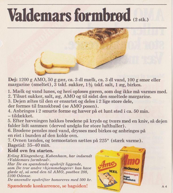 Valdemars Formbrød...