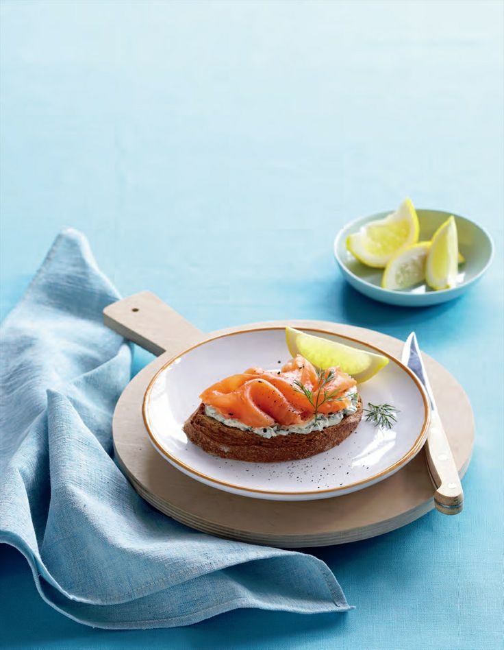 Smoked salmon with herb cream cheese recipe by Tiffiny Hall | Cooked