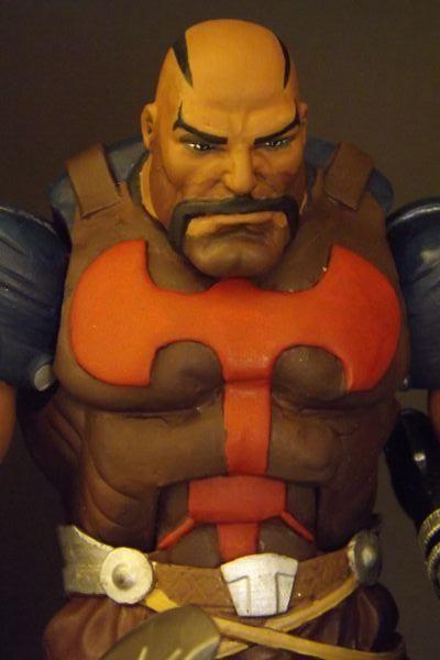 Executioner (Skurge) (Marvel Legends) Custom Action Figure by Comicustoms Base figure: T.Hawk with Smart Hulk head