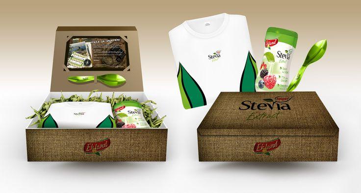 Starter pack dla marki Stevia