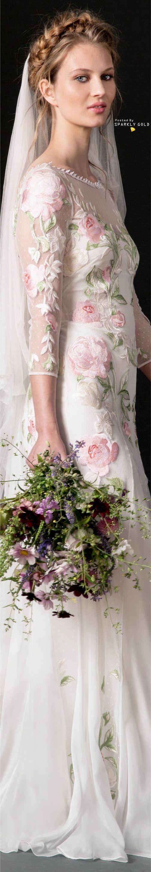 Temperley London Fall 2018 Bridal