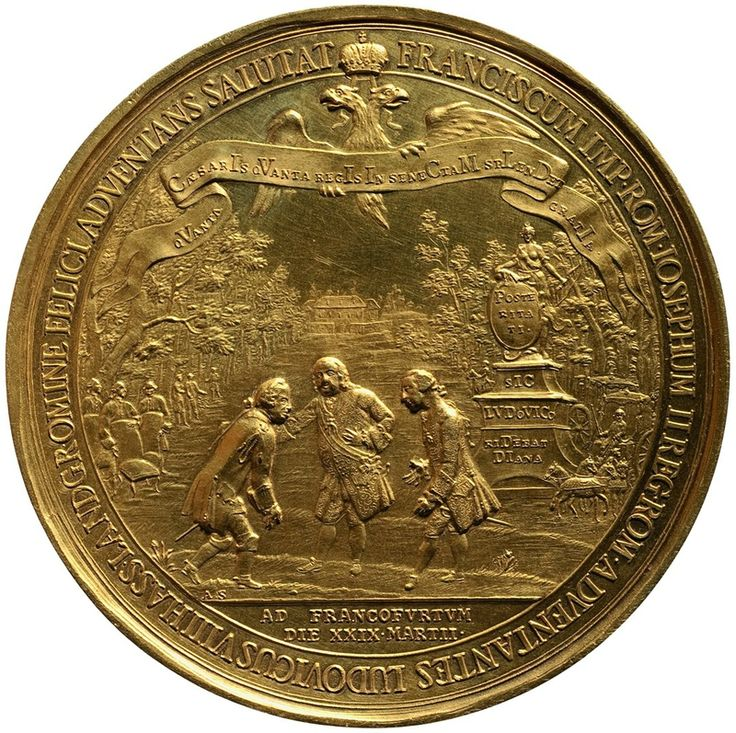 Grand Medal on the occasion of the meeting of Emperor Francis I Stephen with…