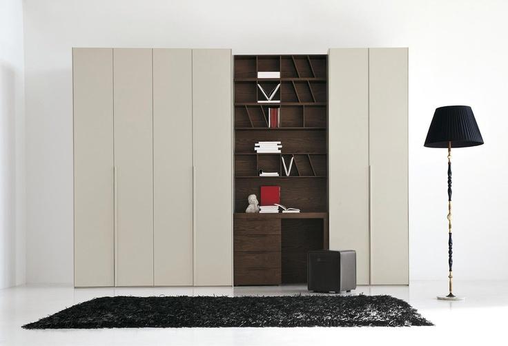 Camere da letto moderne Plana F130 - Cenedese