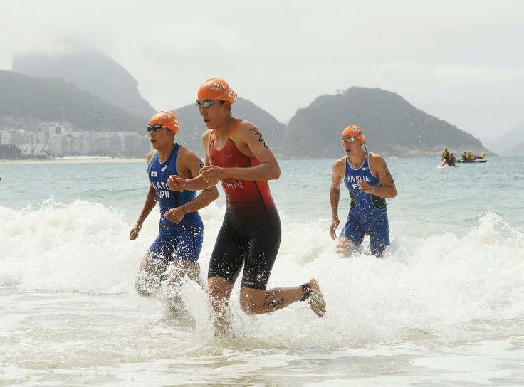 #トライアスロン 女子の加藤友里恵選手、46位入賞です #オリンピック #リオ2016