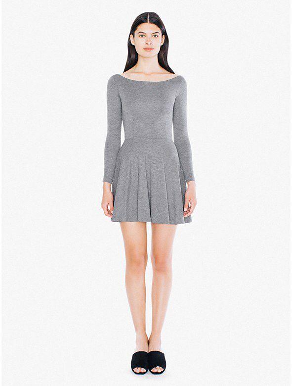 Ponte Skater Dress from American Apparel $68,00