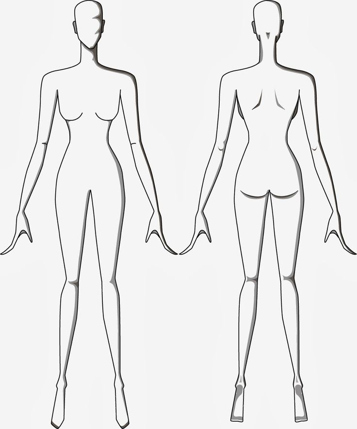 mannequin template for fashion design - Google Search ...