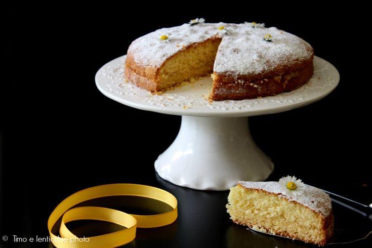 Soffice e leggera una classica torta della tradizione italiana, di Pellegrino Artusi la pasta Margherita cioè la Torta margherita gluten free al limone