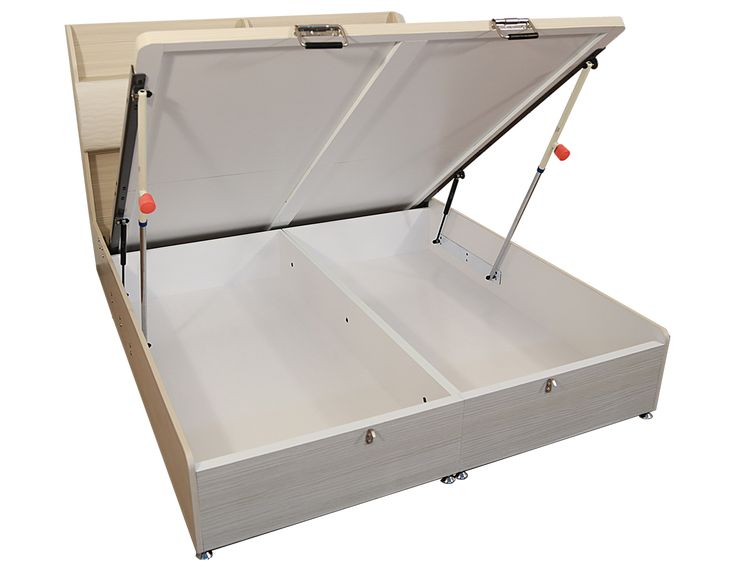safe effort automatic decending life storage bed