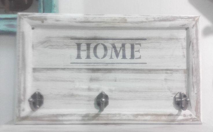 Perchero De Pared Home Madera Y Tres Ganchos Estilo Vintage - $ 440,00 en MercadoLibre