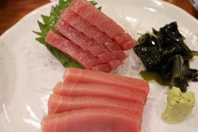魚魚魚のマグロ刺身
