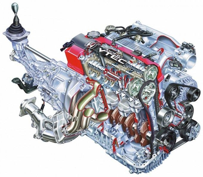 ★ Honda ~ VTEC CAD - Engine ★