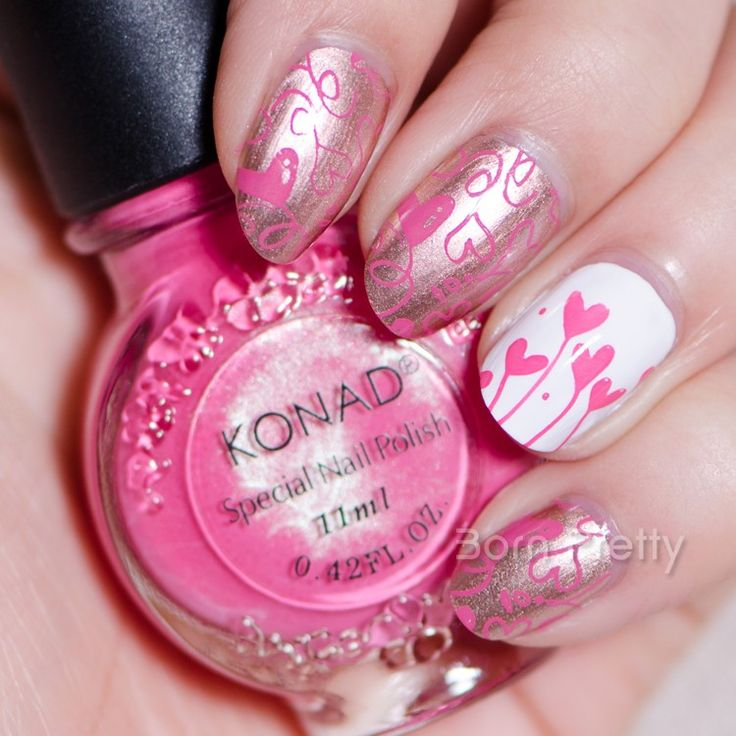 672 best born pretty store images on pinterest necklaces 759 11ml pink konad nail art stamping polish professional stamping polish bornprettystore use prinsesfo Choice Image
