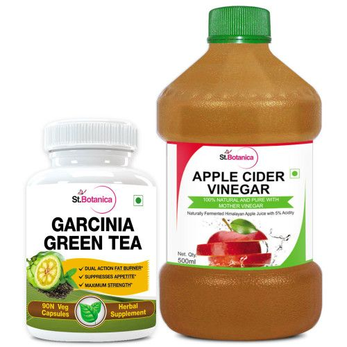 St Botanica Garcinia Green Tea 500mg Extract And Apple