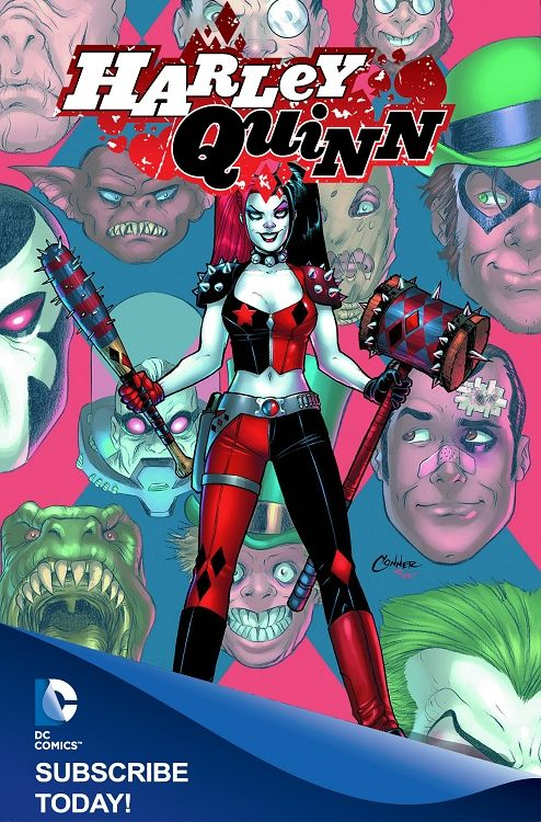 Harley Quinn Comic Book Subscription - DC Comics Mail Order Comics- Pull List at 1up Collectibles
