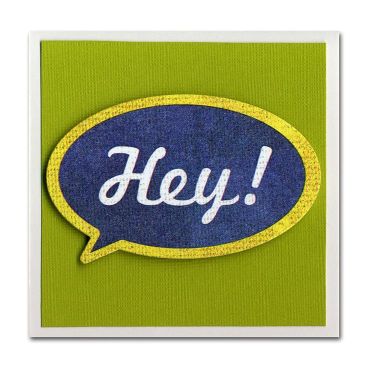 NL Hey Sticker Mini Card: Cute Cards, Cards Galore, Hey Card 4201, Mini 3X3 Cards, Card Ideas, Card Making, Hey Sticker