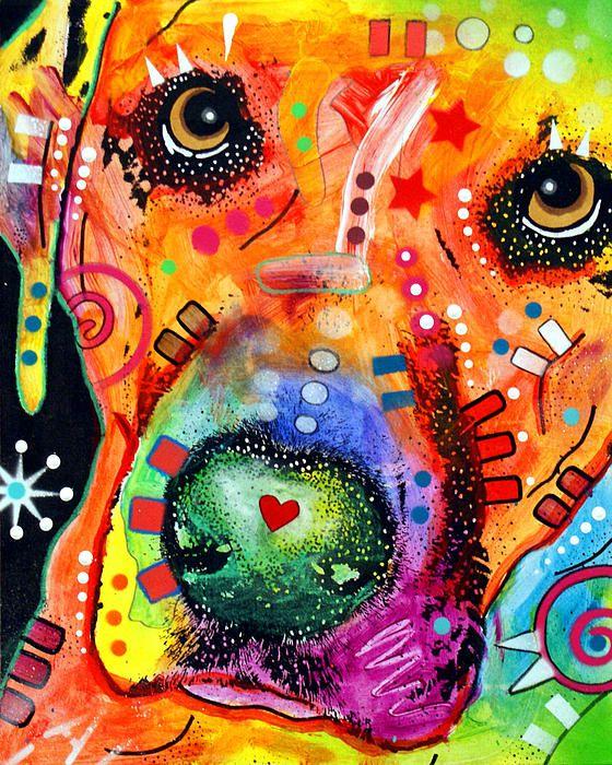 .: Puppies Faces, Colour Art, Dean Russo, Color, Pet, Dogs Art, Dean O'Gorman, Art Prints, Dogs Portraits