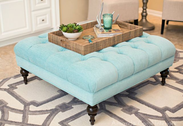Light Blue Ottoman Ottomans And Coffee Tables Pinterest Carpets Ottomans And Faux