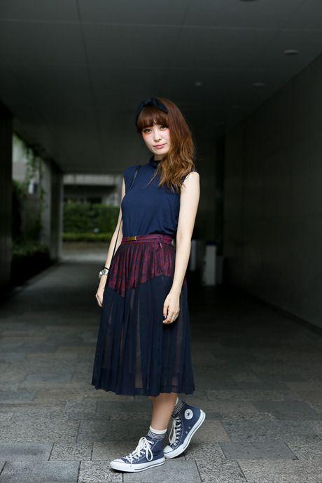 涼しそうな装い: Street Fashion, Street Snap, Omotesando Tokyo, Fashion Fav, Conver コン, Asian Street, Tokyo Mode, ストリートスナップ Tracy Street, Tokyo Fashionsnap Com