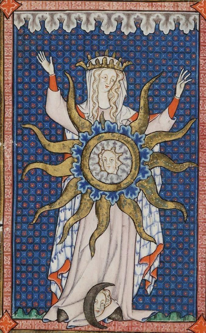 Donna vestita di sole – Cantici di Rothchilde (XIV secolo)