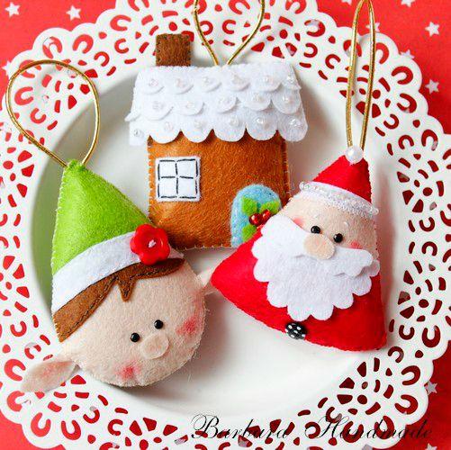 Decoració Nadal de feltre