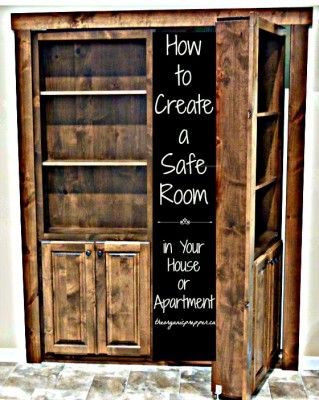 The Homestead Survival | Making A Safe Room Instructions DIY Project | http://thehomesteadsurvival.com