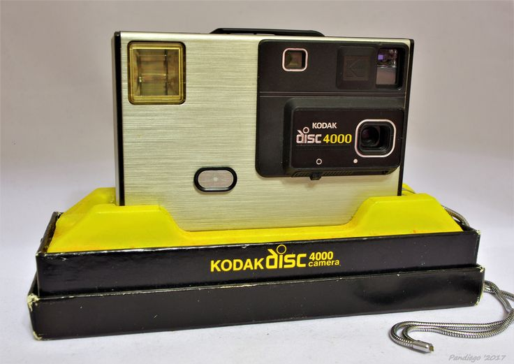 Kodak Disc 4000 - HR disc camera (1982-1984)