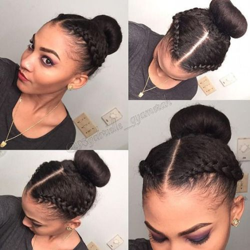 Cute lil protective style!