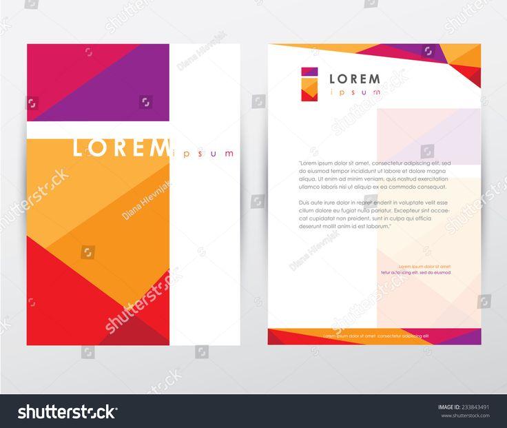 Letterhead Psd Size 25 Corporate Letterhead Templates 25: Best 25+ Brochure Cover Ideas On Pinterest