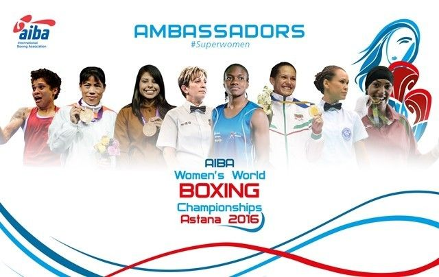 British flyweight Nicola Adams, the first woman to win an Olympic boxing title when she won gold at London 2012, heads a six-strong boxer list.
