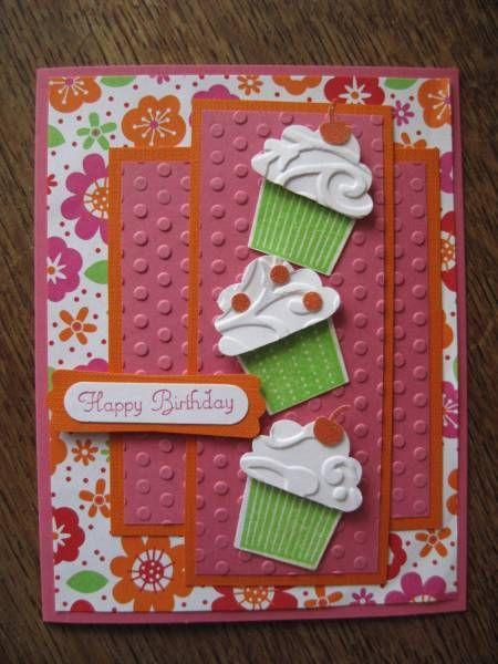 create a cupcake stampin up